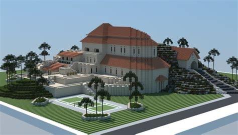 minecraft fancy house designs sandstone mansion minecraft house design