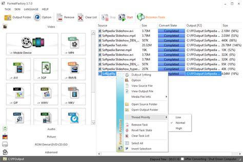 format factory ccm برنامج format factory لتحويل الفيديوهات والصوتيات والصور