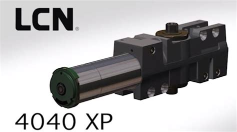 lcn 4040xp series heavy duty surface mounted closer idn inc