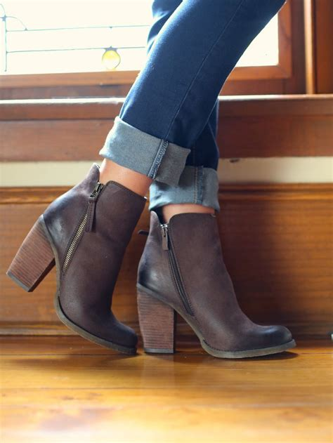 Ankle Leather Booties best 25 brown ankle boots ideas on ankle