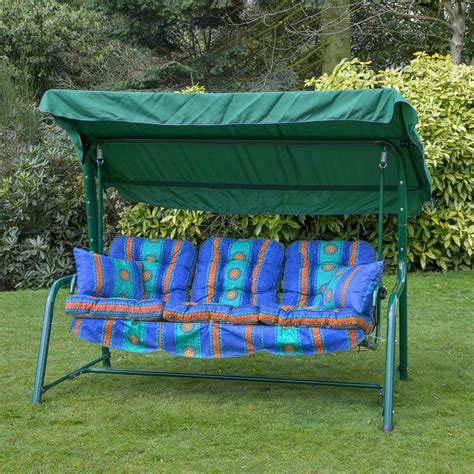 replacement cushions for swings garden 3 seater replacement swing seat hammock cushion set