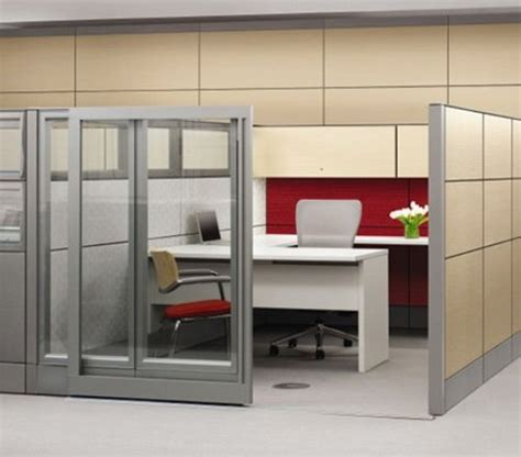 office cubicle design modern cubicle design with sliding door cubicle office