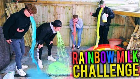 the rainbow milk challenge rainbow milk challenge