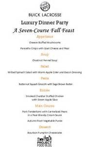 5 Course Meal Menu Template by 1000 Ideas About 3 Course Meals On Course