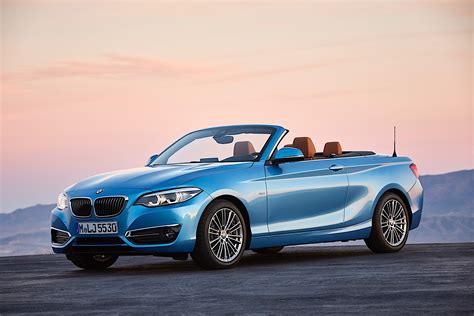 bmw 2 series coupe and cabrio get a subtle facelift they