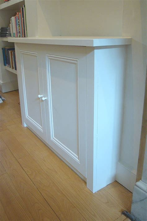 Kitchen Cabinet Picture bespoke alcove cupboard by london carpenter