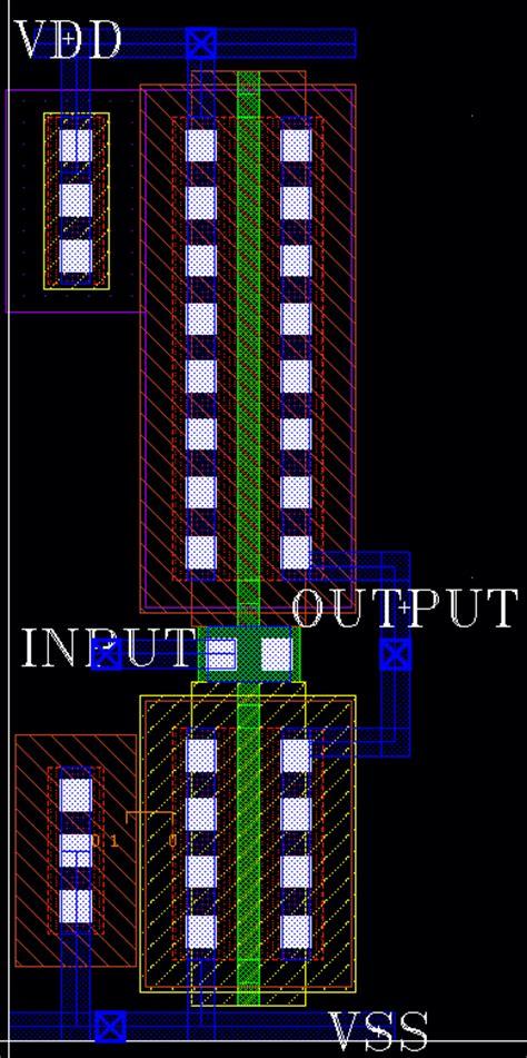 cmos inverter layout design cadence cadence virtuoso layout inverter 45nm sudip shekhar