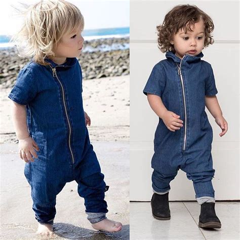 new year clothes for baby cool baby boy clothes newborn romper denim zipper