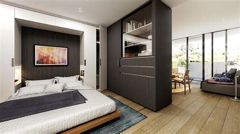 convertible units are set to be the future of apartment the convertible apartment in bedroom mode picture