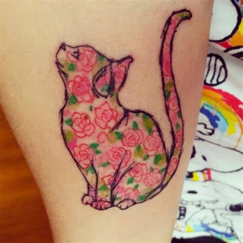 Cat Tattoo Wylie | 50 cute and lovely cat tattoos tattoo lawas
