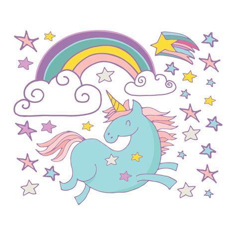imagenes de unicornios y arcoiris unicornios animados bing images