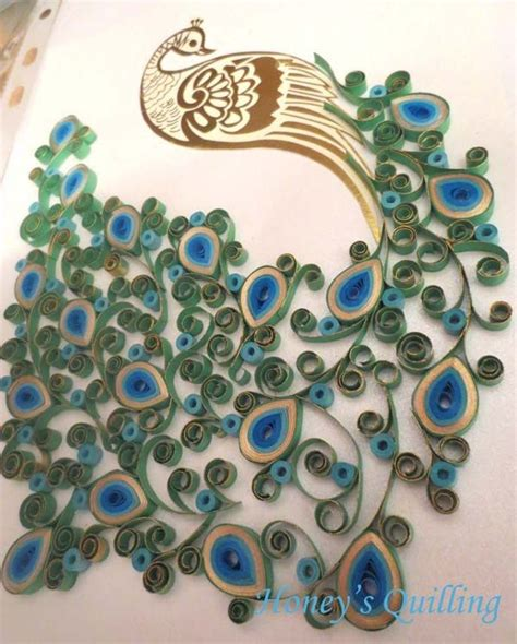 peacock design paper quilled earrings tutorial honey s 8 best paper quilling for kids images on pinterest for