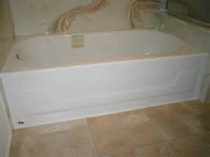 enameled steel bath tub