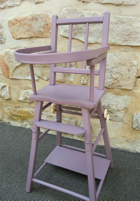 chaise haute pour poupée chaise haute pour poupee violine atelier darblay le