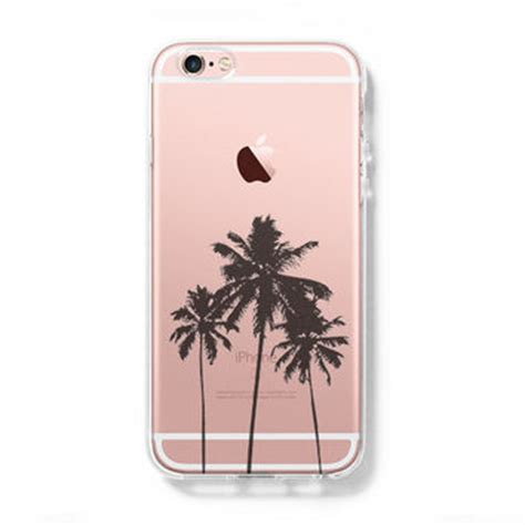 Iphone 6 6s Stussy Logo Pattern Hardcase palm tree california iphone 6s clear from retina designs