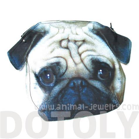 pug shaped pug puppy shaped vinyl animal photo print clutch bag dotoly 183 dotoly