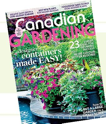 canadian gardening magazine canada pinterest