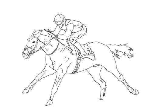 racehorse lineart by seesincolour on deviantart
