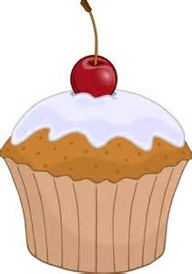 Fruit Decoration On Cake Muffin Clip Art Free Vector In Open Office Drawing Svg
