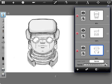 sketchbook itunes drawing on
