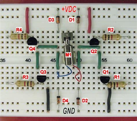 bipolar transistor h bridge bipolar transistor hbridge motor driver page 2 robot room