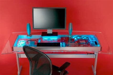 Liquid Cooled Desk by Cool Mods The Liquid Cooled Pc Desk