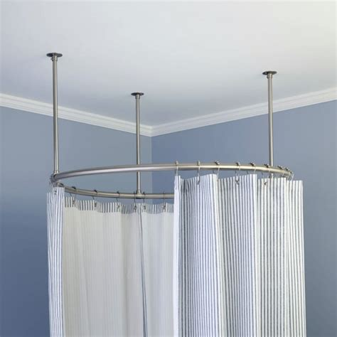 round shower curtain rod for clawfoot tub circular shower curtain rod for clawfoot tub home design