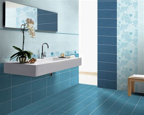 blue bathroom tile ideas calming blue bathroom