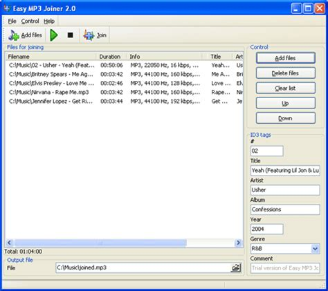 download mp3 converter and joiner download the latest version of easy mp3 joiner free in
