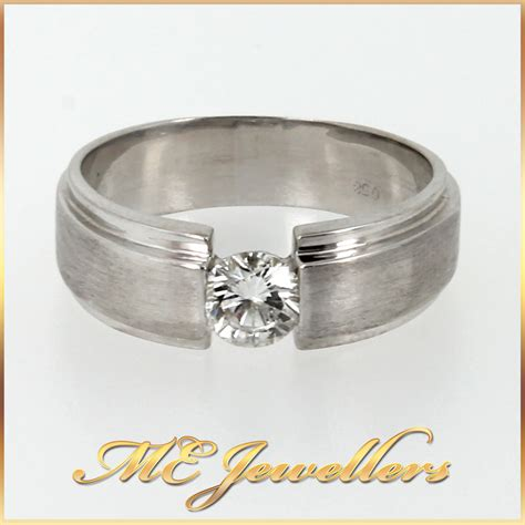 mens platinum and 18k yellow gold wedding band ring 18k