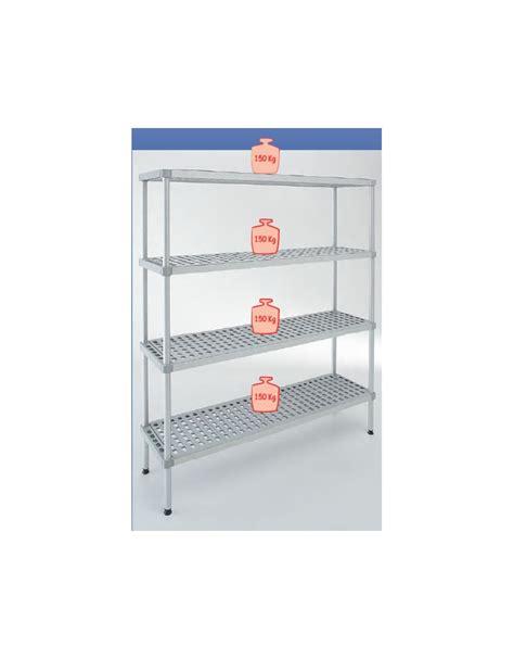 scaffale per scaffale per cella frigorifera o magazzino cm 170x30x160h