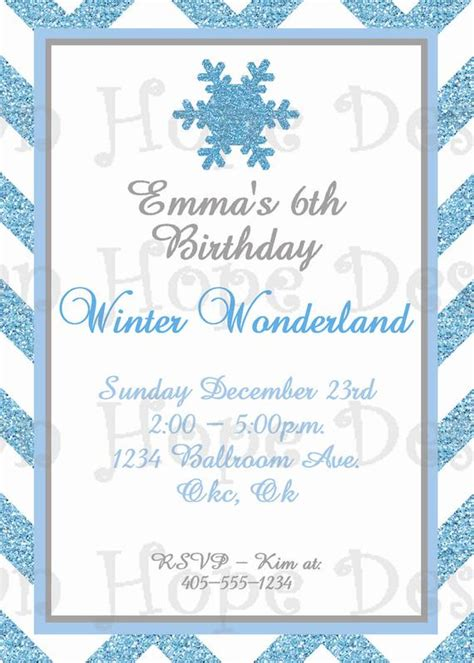 Winter Wonderland Invitation Winter Wonderland Birthday Free Winter Invitations Templates