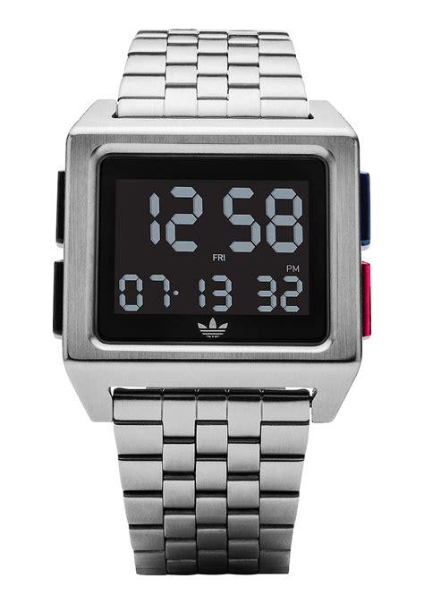 Adidas Digital Hitam Gold adidas archive m1 digital wristwatch has an understated