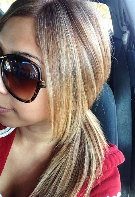 blonde hairstyles colors highlights caramel hair with blonde highlights hair pinterest