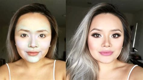 Nyx Color Correcting Concealer Palette makeup transformation how to using nyx color correcting
