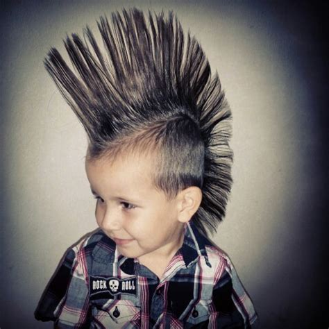 Mohawk Hairstyle For Boys by Best Mohawk On The Cutest Boy Rock Country