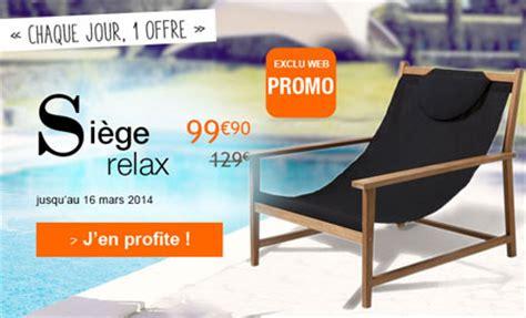 siege relax si 232 ge relax en teck noir pour 99 euros