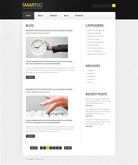 joomla templates for business website free download free joomla business template free templates online