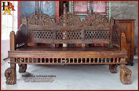 banc indien banc indien ancien restaur 233 jn10 sgh02 meubles indiens