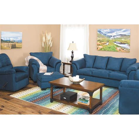 dark blue recliner darcy dark blue rocker recliner 7500725 ashley