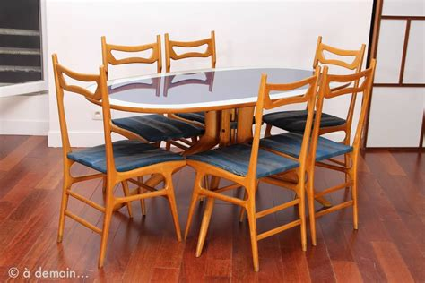 italian dining room set rare modernist italian dining room set in the style of ico