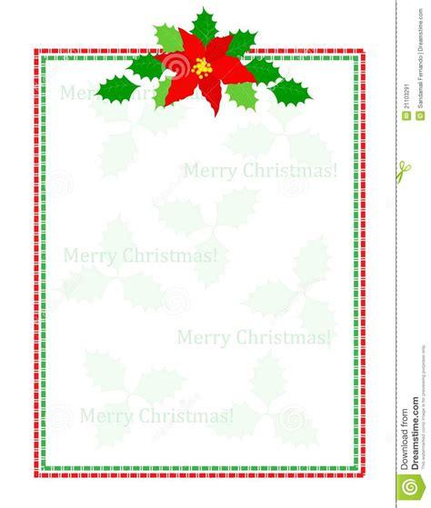 stripes christmas frame stock image image