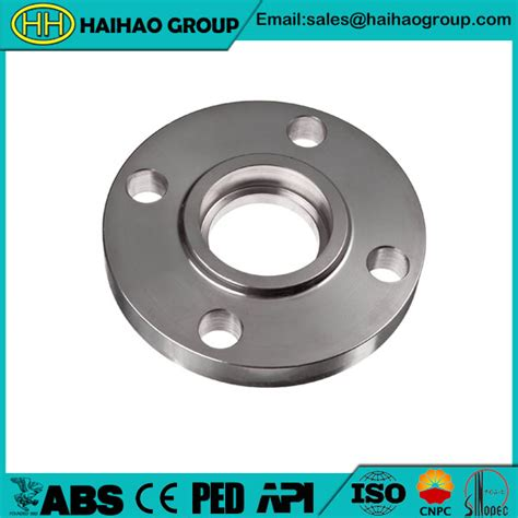 Socket Skun Joint Slip Connector 6mm jis b2220 socket weld flange sw flange factory haihao pipe fitting factory