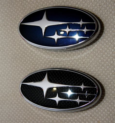 subaru emblem replacement what s the 2008 wrx sedan chrome trunk and