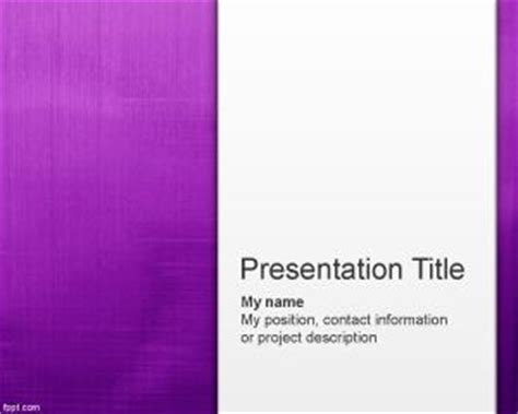 Paint Violet Abstract Powerpoint Template Powerpoint Templates Free Violet