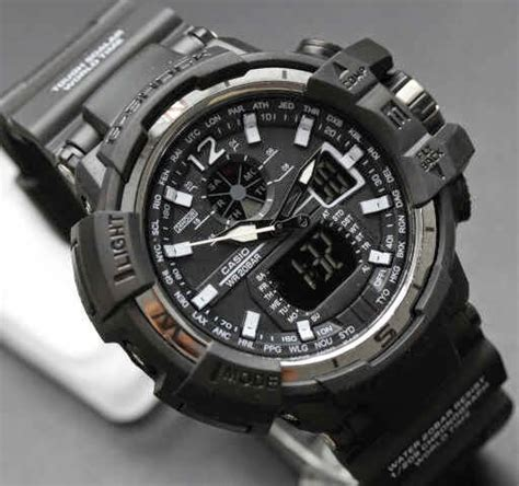 G Shock Gwa 1100 Black List White casio g shock kw g shock gwa 1100 kw