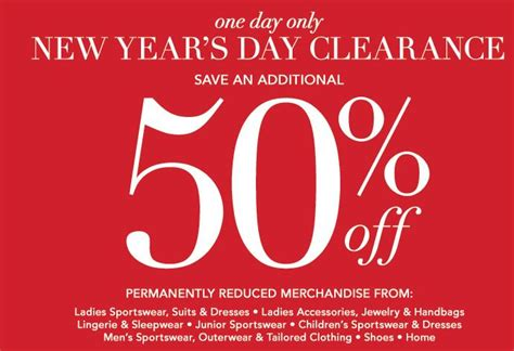 new year s day sales tips for shopping the dillard s new years day sale