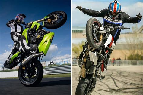 Modified Bikes For Stunts by How The Hell Do You Become A Stunt Rider Mcn