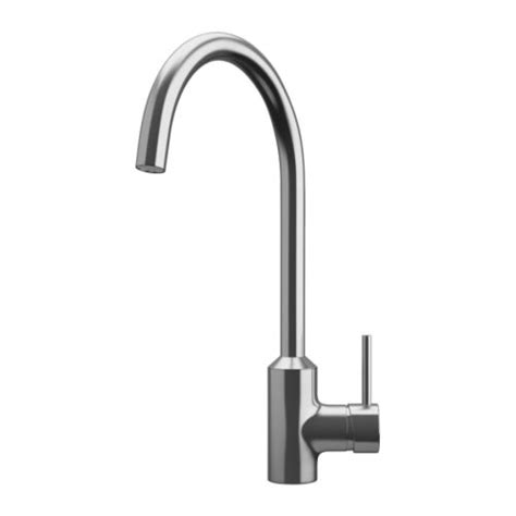 single lever kitchen faucet ringsk 196 r single lever kitchen faucet ikea