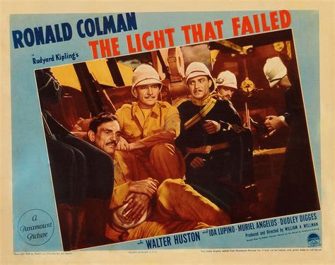 Light That Failed The 1939